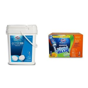 Clorox Pool&Spa Large Pool Early Season Shock and Tab Bundle
