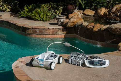 Aquabot Abreez4 X Large Breeze With Scrubbers Robotic Pool