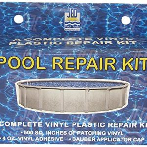 JED Pool Tools 35-245 Repair Kit for Swimming Pool, 4-Ounce, Vinyl