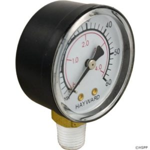 Hayward ECX270861 Boxed Pressure Gauge Replacement for Select Hayward Sand and D.E. Filter