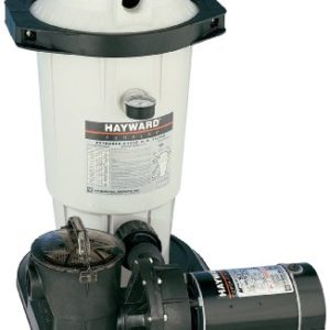 Hayward EC40C92S Perflex 1-Horsepower Extended-Cycle D.E. Filter Pool System
