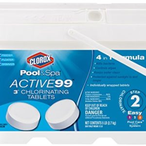 "Clorox® Pool&SpaTM Active99TM 3"" Chlorinating Tablets"
