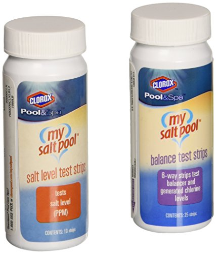Can not pool check salt test strips not absolutely