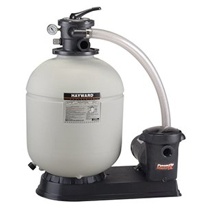 Hayward S230T932S 23-Inch Pro Series Sand Filter System with 1-1/2 HP 2 Speed Power-Flo Matrix Pump