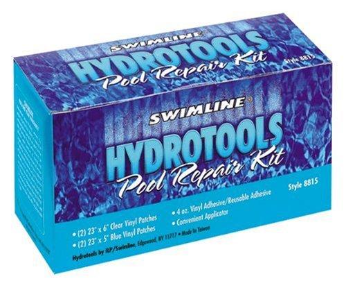 Hydro tools 8815 4 ounce vinyl pool linear repair kit for Boxer 4 oz vinyl swimming pool liner repair kit