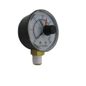 Hayward D.E.CX271261 Boxed Pressure Gauge with Dial Replacement for Select Hayward Filter and Multiport Valve