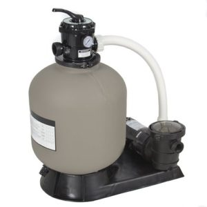 "Best Choice Products® Pro Above Ground Swimming Pool Pump System 4500GPH 19"" Sand Filter w/ 1.0HP"