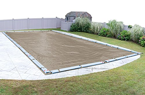 Pool Mate 572040R Sandstone Winter Cover for 20 by 40 Foot In-Ground  Swimming Pools