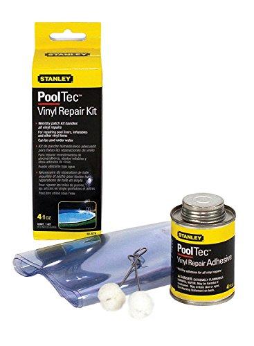 Stanley 30879 4oz Vinyl Repair Kit Wet Or Dry Patching